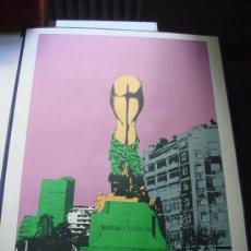 "Arte: EDUARDO URCULO, SERIGRAFIA.CARPETA: ""MONUMENTALIA PODICIS""SOBRE MONUMENTOS Y PLAZAS DE MADRID. 1977 . Lote 33073686"