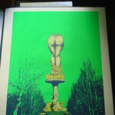 "Arte: EDUARDO URCULO, SERIGRAFIA.CARPETA: ""MONUMENTALIA PODICIS""SOBRE MONUMENTOS Y PLAZAS DE MADRID.1977. Lote 33073701"