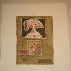 Arte: ALBERTO GIRONELLA, MÉXICO, 1929-1999, SERIGRAFIA 9/100. FIRMADA Y FECHADA POR EL ARTISTA.. Lote 33418781