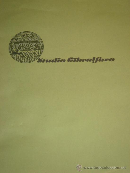 Arte: EUGENIO CHICANO, Carpeta con 3 Aguafuerte y 3 poesías de Arnaldo Ederle, 1978 - Foto 2 - 33418102
