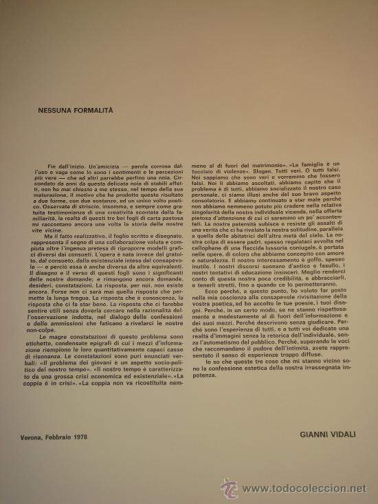 Arte: EUGENIO CHICANO, Carpeta con 3 Aguafuerte y 3 poesías de Arnaldo Ederle, 1978 - Foto 11 - 33418102