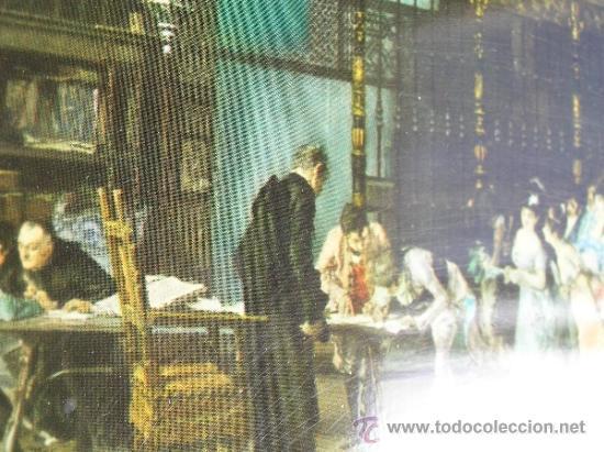 Arte: MUY INTERESANTE SERIGRAFÍA SOBRE METAL de la VICARIA DE FORTUNY.ANTIGUA PRIMERA MITAD S. XX. - Foto 4 - 34076245