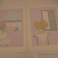 Arte: 2 SERIGRAFIAS DE MARLEZ FIRMADAS. Lote 34701613