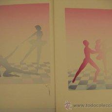 Arte: 2 SERIGRAFIAS FIRMADAS. Lote 34702297