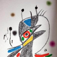 Arte: MIRO, J (1893-1983). LITOGRAFIA SERIE MARAVILLAS. AÑO 1975. MOURLOT 1054.. Lote 31099248