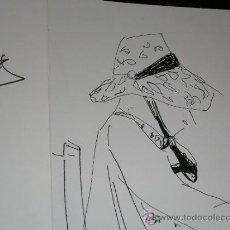 Arte: GENARO LA HUERTA. CABEZAS NIÑOS.DIBUJO REPRODUCIO GRAN CALIDAD IMPRESIÓN.FELICITACIÓN FIRMADA 1982.E. Lote 36264397