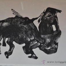 Arte: SERIGRAFIA DE URIARTE DE TAUROMAQUIA SOBRE TRANSPARENCIA FIRMADA . Lote 36488560