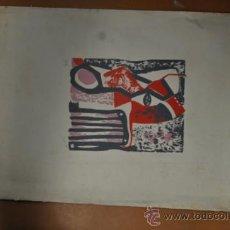 Arte: SERIGRAFIA FIRMADA LLIGADAS'75. NUMERADA 30/30. Lote 36834903