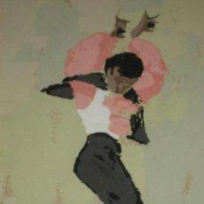 Arte: SERIGRAFIA DE LLIVI CALVET - EL BAILARIN ANTONIO - FIRMADA Y ENMARCADA. Lote 37463437