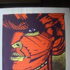 """Arte: NICOLAS GLESS, 1974, SERIGRAFIA COLOR """"ERZEBETH BATORHY, CONDESA SANGRIENTA II"""".. Lote 36094475"""