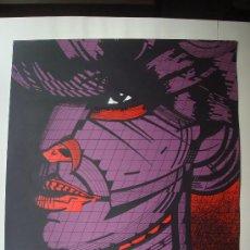 """Arte: NICOLAS GLESS, 1974, SERIGRAFIA COLOR """"ERZEBETH BATORHY, CONDESA SANGRIENTA I"""".. Lote 36094519"""