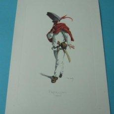 Arte: FRITELLINO - 1580. PERSONAJE DE LA COMEDIA DEL ARTE. FORMATO 22 X 32 CM. Lote 38716891