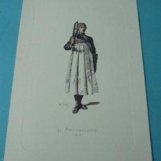 Arte: L APOTHICAIRE - 1645. PERSONAJE DE LA COMEDIA DEL ARTE. FORMATO 22 X 32 CM. Lote 38716921