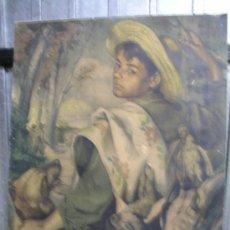 Arte: LAMINA DE FRANCISCO RIBERA GOMEZ DE 1947. Lote 38842252
