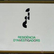 Arte: JOAN BROSSA. RESIDÈNCIA D'INVESTIGADORS, TIRAJE 116/200. MARCO: 37X52 CM.. Lote 39412629