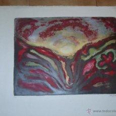 Arte: GRABADO - SERIGRAFIA - FDA. HELMAN - COMPOSICION ABSTRACTA. Lote 39504614
