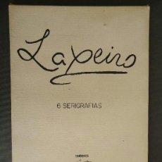 Arte: GALICIA. LAXEIRO. 6 SERIGRAFIAS 50X35CM. TIRADA DE 60 BUENOS AIRES 1976. Lote 60729353