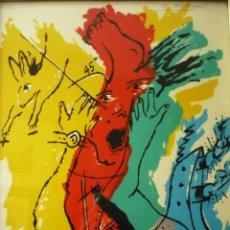 Arte: EL HORTELANO SERIGRAFIA NUMERADA Y FIRMADA. Lote 40220892