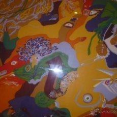 Arte: MANUEL ALCORLO SERIGRAFIA ORIGINAL NUMERADA Y FIRMADA. Lote 40295531
