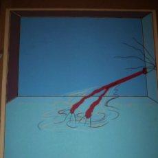 Arte: CARLOS ALCOLEA SERIGRAFIA LA PISCINA DE MANOLO. Lote 40660558