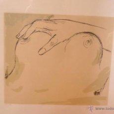 Arte: GREGORIO PRIETO-SERIGRAFIA NUMERADA Y FIRMADA. Lote 41039968