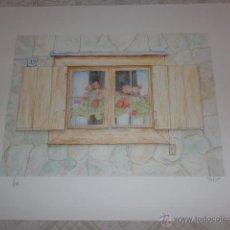 Arte: SERIGRAFIA DEL PINTOR SECUNDINO LOPEZ POUSA FIRMADA Y NUMERADA. Lote 41295786