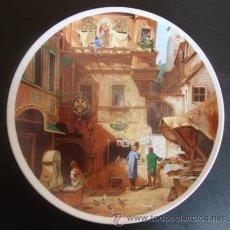 Arte: PLATO PORCELANA 20 CM - CARL SPITZWEG (KUNST UND BISSENSCHAFT). Lote 166541685