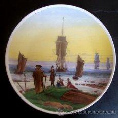 Arte: PLATO PORCELANA 20 CM - C.D. FRIEDRICH (DIE LEBENSSTUFEN). Lote 41595591