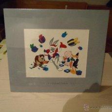 Arte: SERIGRAFIA WARNER BROS-BUGS BUNNY Y AMIGOS EN NAVIDAD-RARA. Lote 40068128
