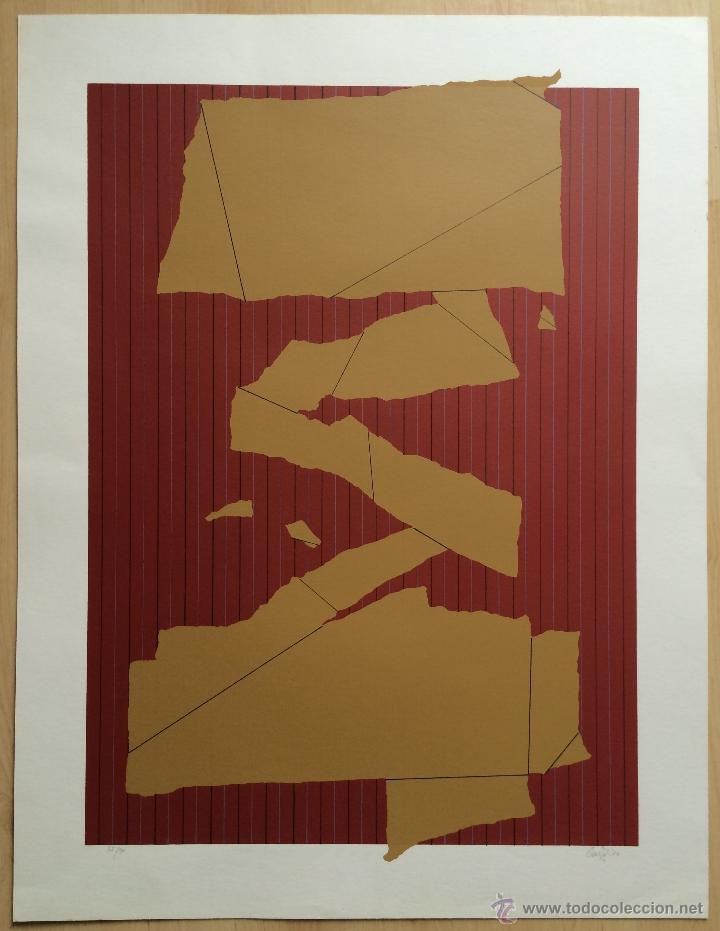 ÁNGEL CRUZ, 1976. SERIGRAFÍA. EDICIÓN LIMITADA. FIRMADA Y NUMERADA (Arte - Serigrafías )