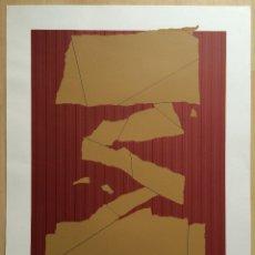 Arte: ÁNGEL CRUZ, 1976. SERIGRAFÍA. EDICIÓN LIMITADA. FIRMADA Y NUMERADA. Lote 42803051