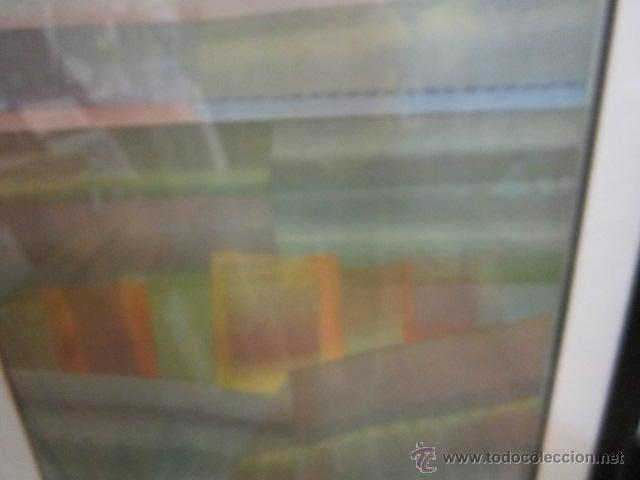 Arte: Lámina - póster enmarcado, de Sempere. 51 x 85 cms. - Foto 2 - 43315901