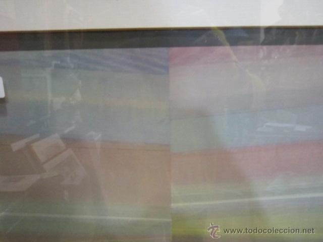 Arte: Lámina - póster enmarcado, de Sempere. 51 x 85 cms. - Foto 3 - 43315901