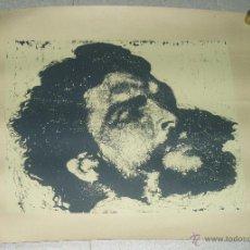 Arte: SERIGRAFÍA. 97 X 69 GARCIA GÓMEZ. CHE GUEVARA. CUBA. Lote 43375210