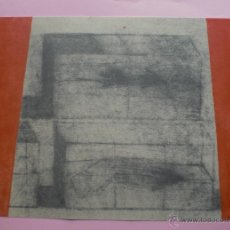 Arte: LLUIS LLEÓ (BARCELONA 1961) SERIGRAFÍA 32X45CMS D80X1000 FIMADA PLANCHA. CERTIFICADO Y CARPETA. Lote 43718650