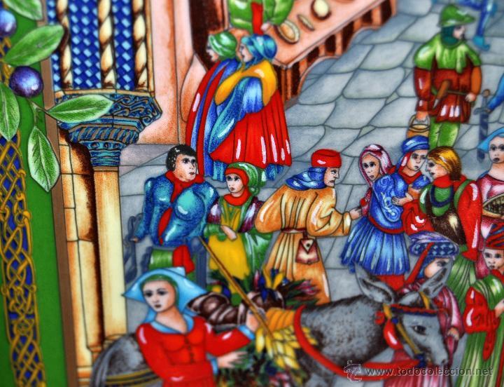 Arte: CONJUNTO DE 3 PORCELANAS SERIGRAFIADAS DE TEMA INDIO. FIRMADAS Y NUMERADAS - Foto 8 - 44427176