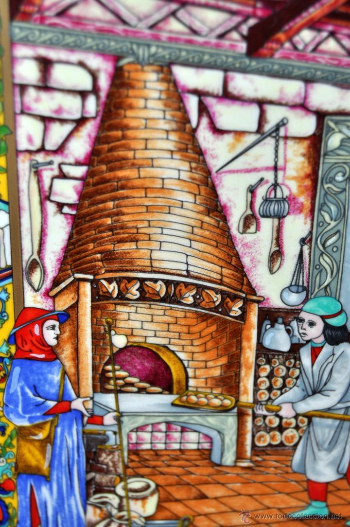 Arte: CONJUNTO DE 3 PORCELANAS SERIGRAFIADAS DE TEMA INDIO. FIRMADAS Y NUMERADAS - Foto 19 - 44427176