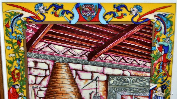 Arte: CONJUNTO DE 3 PORCELANAS SERIGRAFIADAS DE TEMA INDIO. FIRMADAS Y NUMERADAS - Foto 21 - 44427176