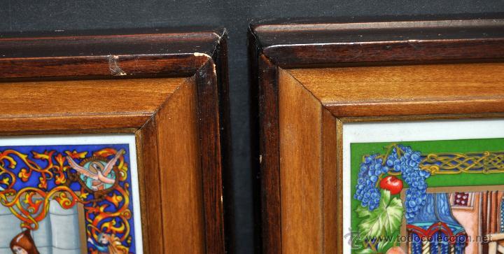 Arte: CONJUNTO DE 3 PORCELANAS SERIGRAFIADAS DE TEMA INDIO. FIRMADAS Y NUMERADAS - Foto 24 - 44427176