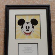 """Arte: SERICEL ORIGINAL DE MICKEY MOUSE, PREMIO ESPECIAL DISNEY AL """"PRODUCTO MÁS INNOVADOR"""", AÑO 1999. Lote 44461902"""