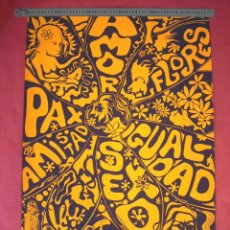 Arte: POP ART - 1968 - TUSET STREET - GUIBERNAU - POSTER EGAT . Lote 44627130