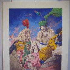 Arte: VICENTE ARNÁS LA EPIFANIA MEDIDAS 70 X 50 CM. Lote 182592981