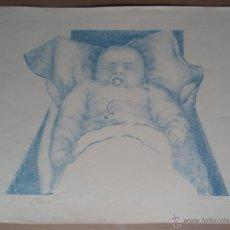 Arte: CLAUDIO DIAZ (SEVILLA, 1939) LITOGRAFÍA PA DE 40X32 EN 55X40CMS, FIRMADA LAPIZ, FECHADA Y DEDICADA. Lote 45371586