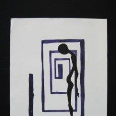 Arte: SERIGRAFIA FIRMADA ORIGINAL ALMENAR. Lote 46038952