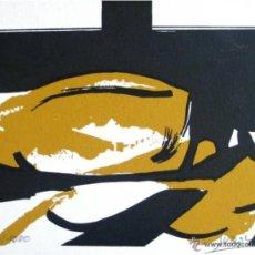 Art: ANTONIO SUÁREZ (1923-2013) 'SIN TÍTULO', SERIGRAFÍA,. Lote 46418112