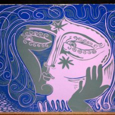 Arte: JORDI SAMSÓ (BARCELONA 1929) SERIGRAFIA. TEMA ABSTRACTO. Lote 173558870