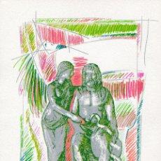 Arte: HYGEA. GABRIEL RAMOS GARCIA 1991. Lote 172122952