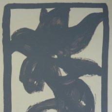 Arte: JOAN HERNÁDEZ PIJUÁN. DE CARPETA A FERNANDO ZOBEL, 1984. Lote 47657595