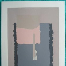 Arte: FELIX VILLAMOR (TOLEDO, 1940) SERIGRAFÍA 40X60 PAPEL 50X70CMS, FIRMADA A LÁPIZ F.VILLAMOR Y PA III/X. Lote 47736309