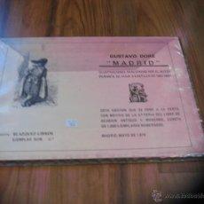 Arte: GUSTAVO DORÉ - MADRID - EDICION LIMITADA 1000 EJEMPLARES - CARPETA 25 ILUSTRACIONES - 1979. Lote 48203756